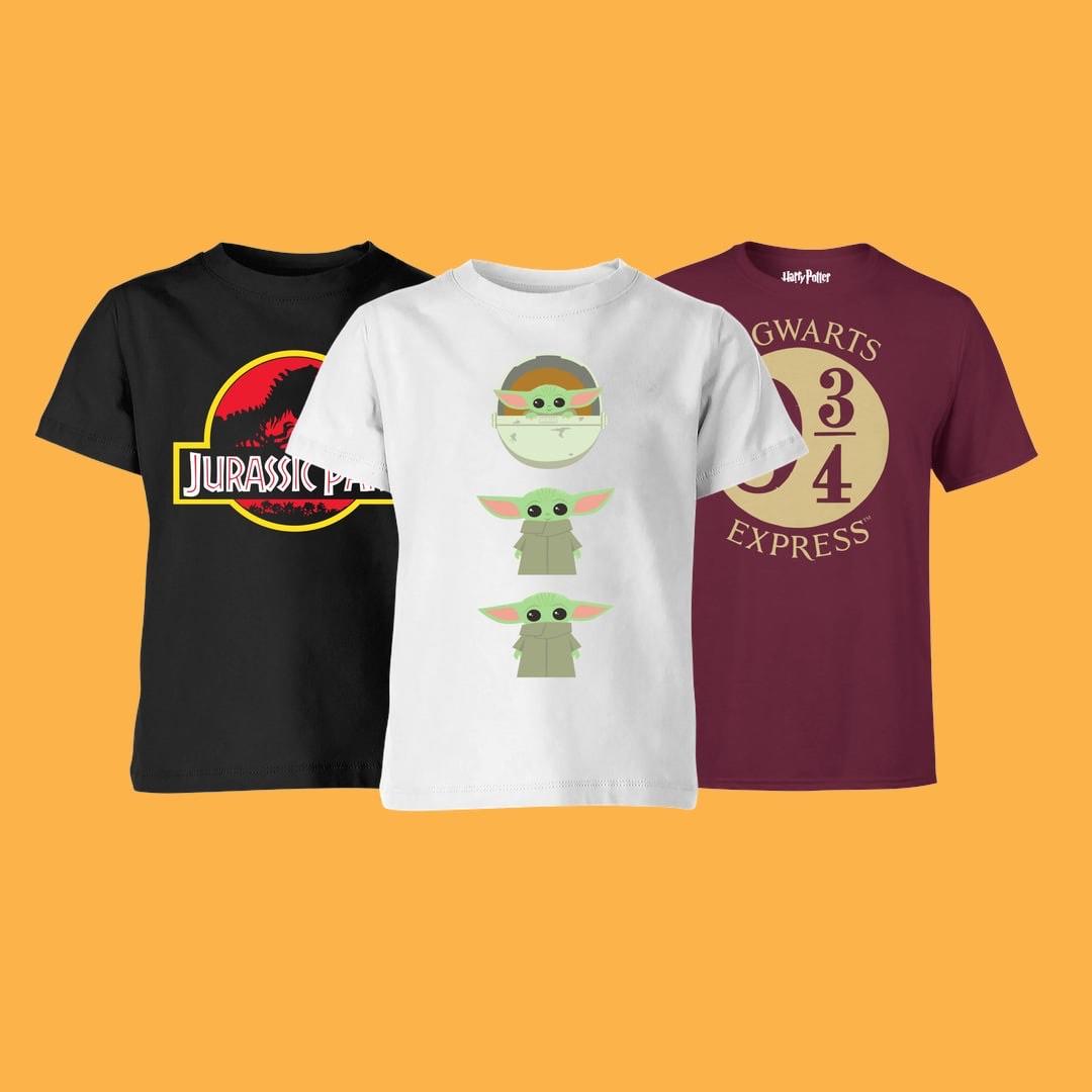 2 camisetas para niñ@s por solo 12,99€ (Disney, Marvel, Harry Potter...)