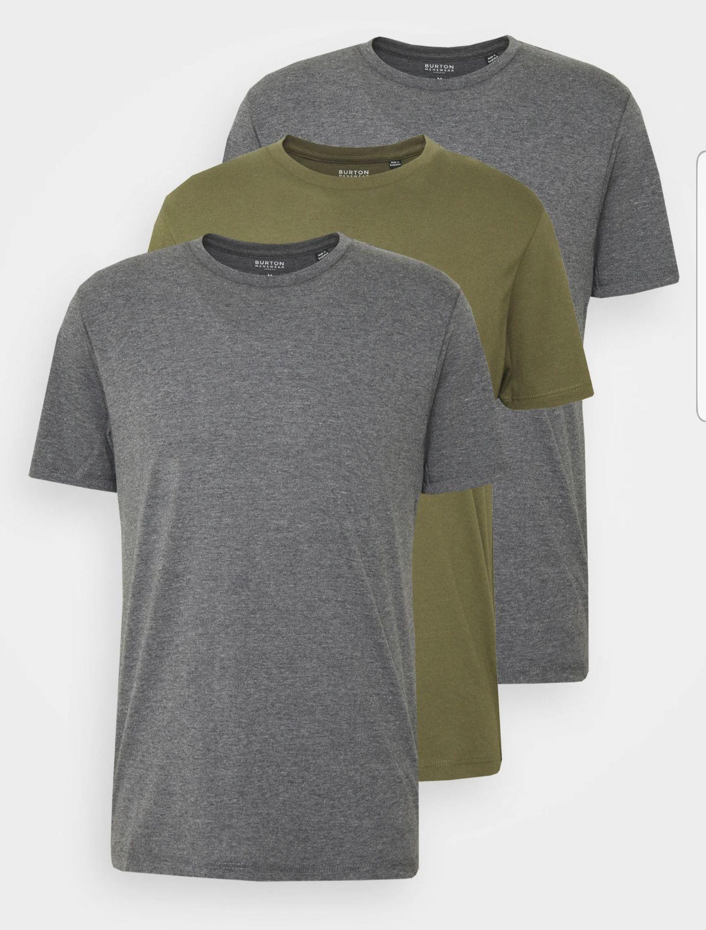 Pack de 3 Camisetas para Hombre ( + Packs en Descripción)