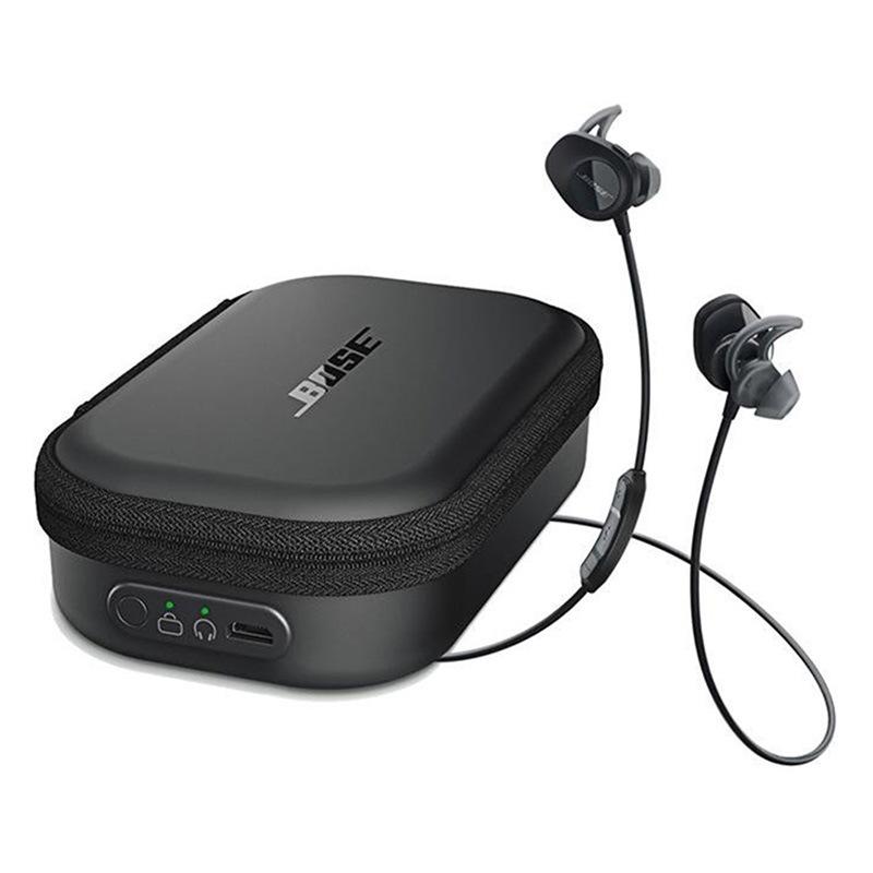 BOSE - Auriculares Bose SoundSport Wireless - Funda De Carga Incluida - Negro