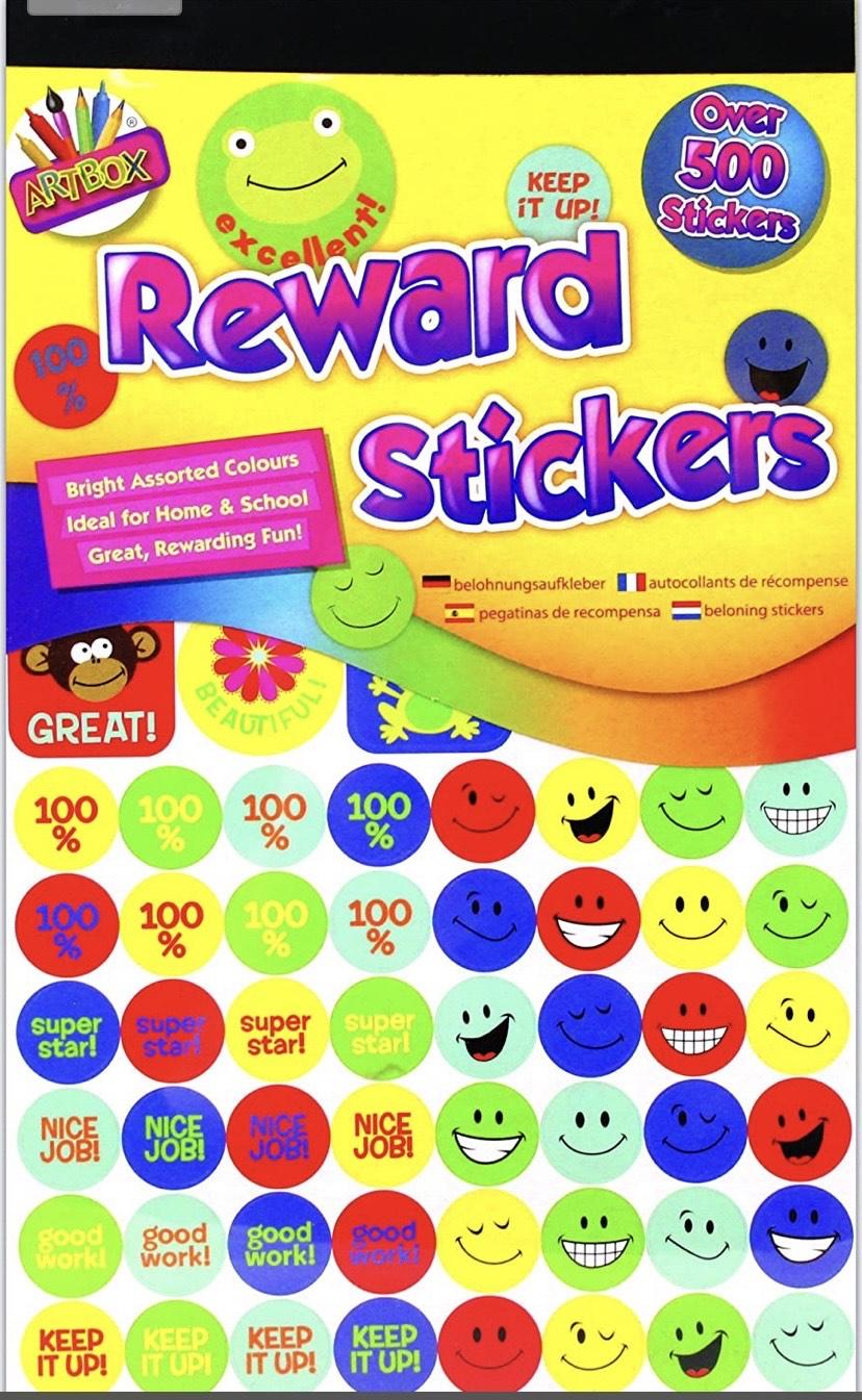 Más de 500 pegatinas (stikers)