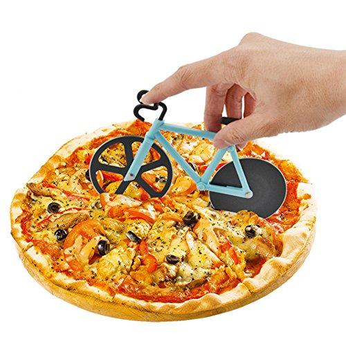 Cortador de pizza en forma de bicicleta / + Versión Vinilo Dj ( leer descripción)