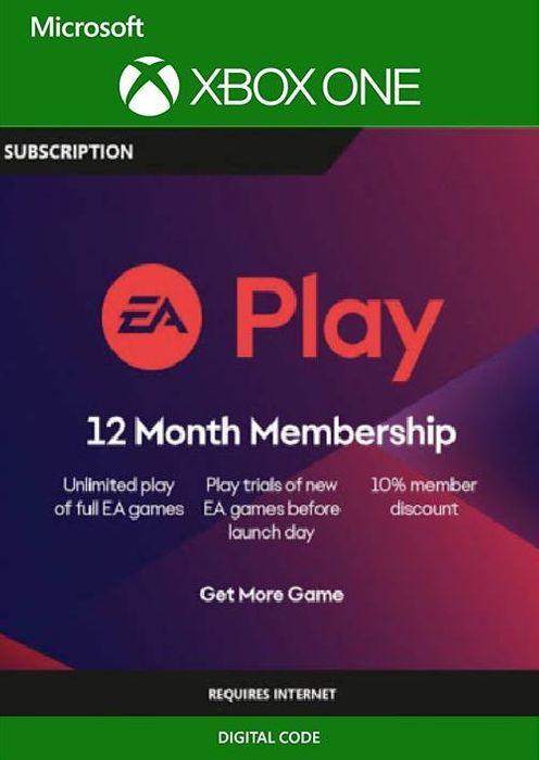 Suscripción de 12 meses a EA PLAY (EA ACCESS)