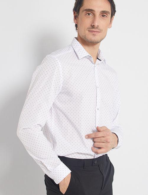 Camisa corte recto
