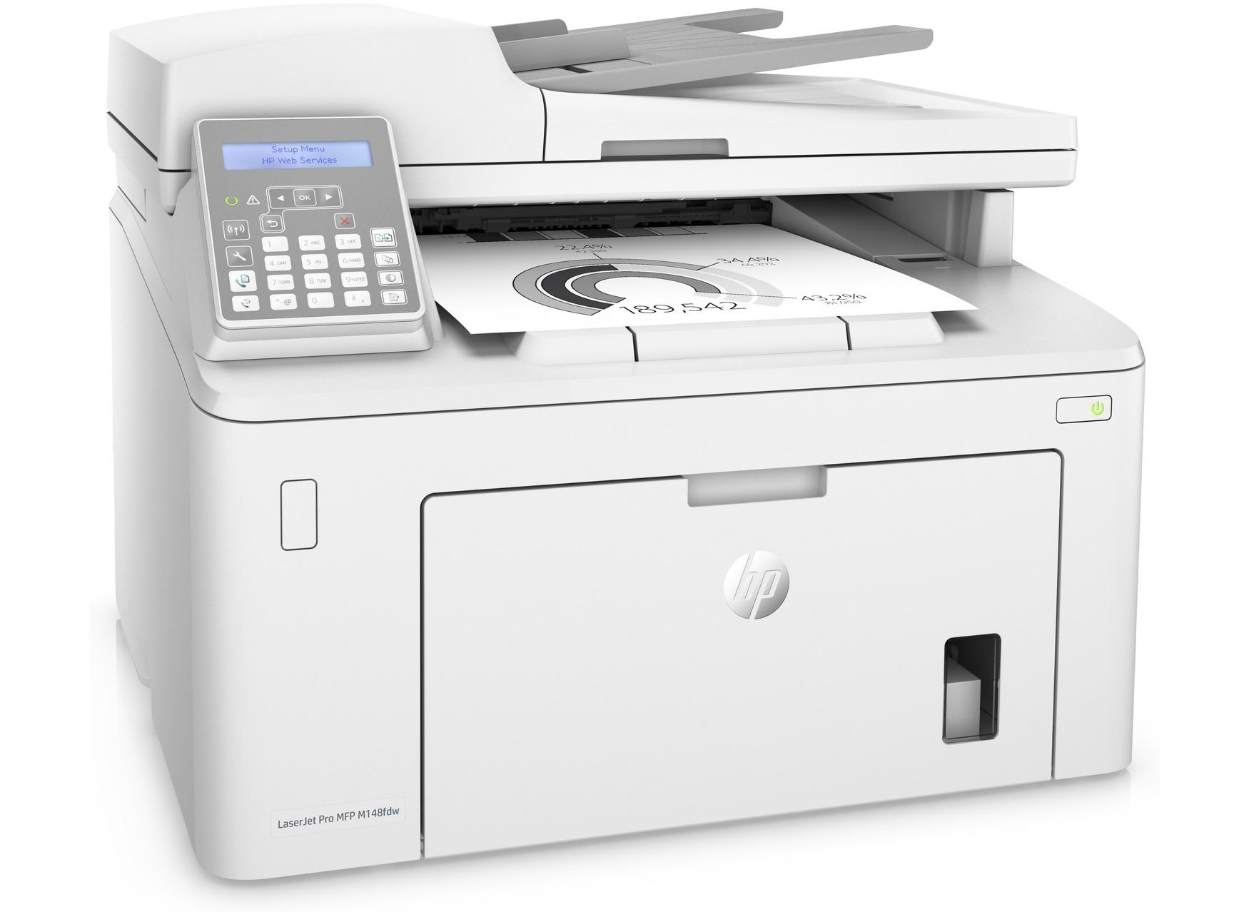 Impresora HP LaserJet Pro M148fdw Multifunción.