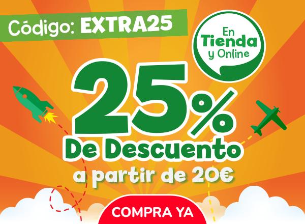 POLY JUGUETES, 25% de descuento en compras de 20€ o más