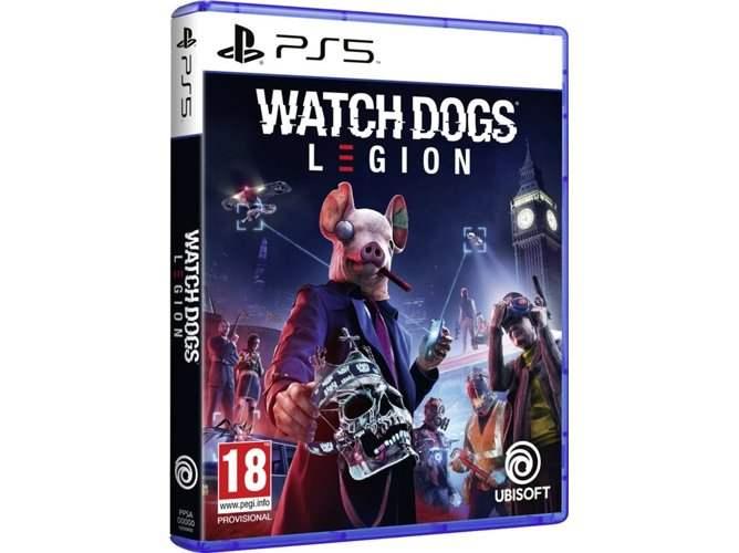 Watch Dogs Legion PS5/PS4 por 29,99€ (2 x 55,49€)