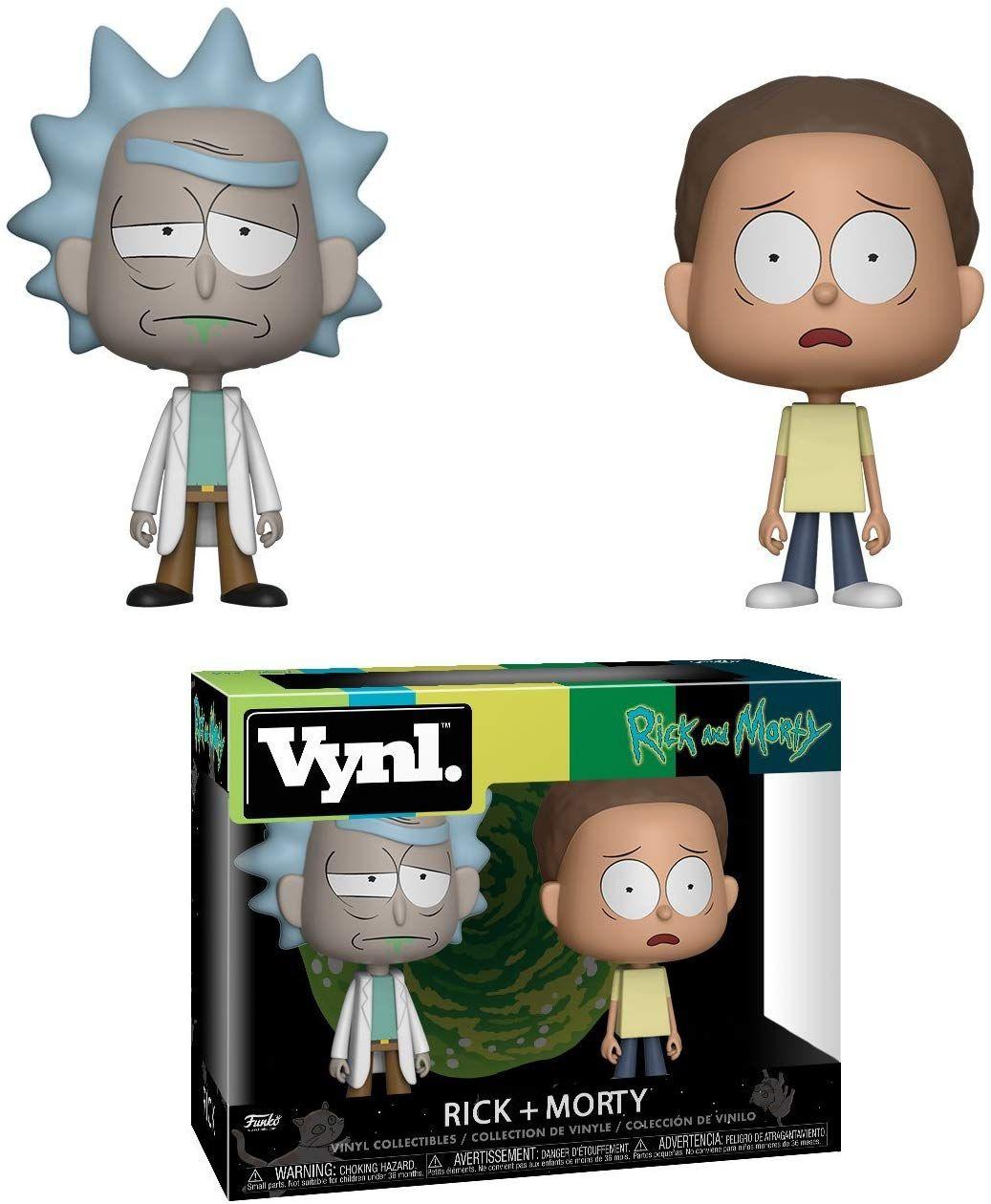 Funko Vynl Pack Rick y Morty