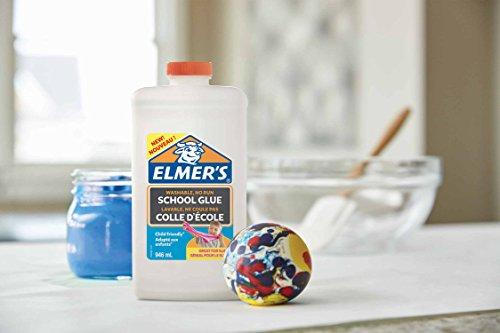 Elmer's - Pegamento líquido uso escolar blanco, lavable, 946 ml