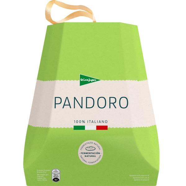 2x1 Pandoro 100% italiano con fermentación natural