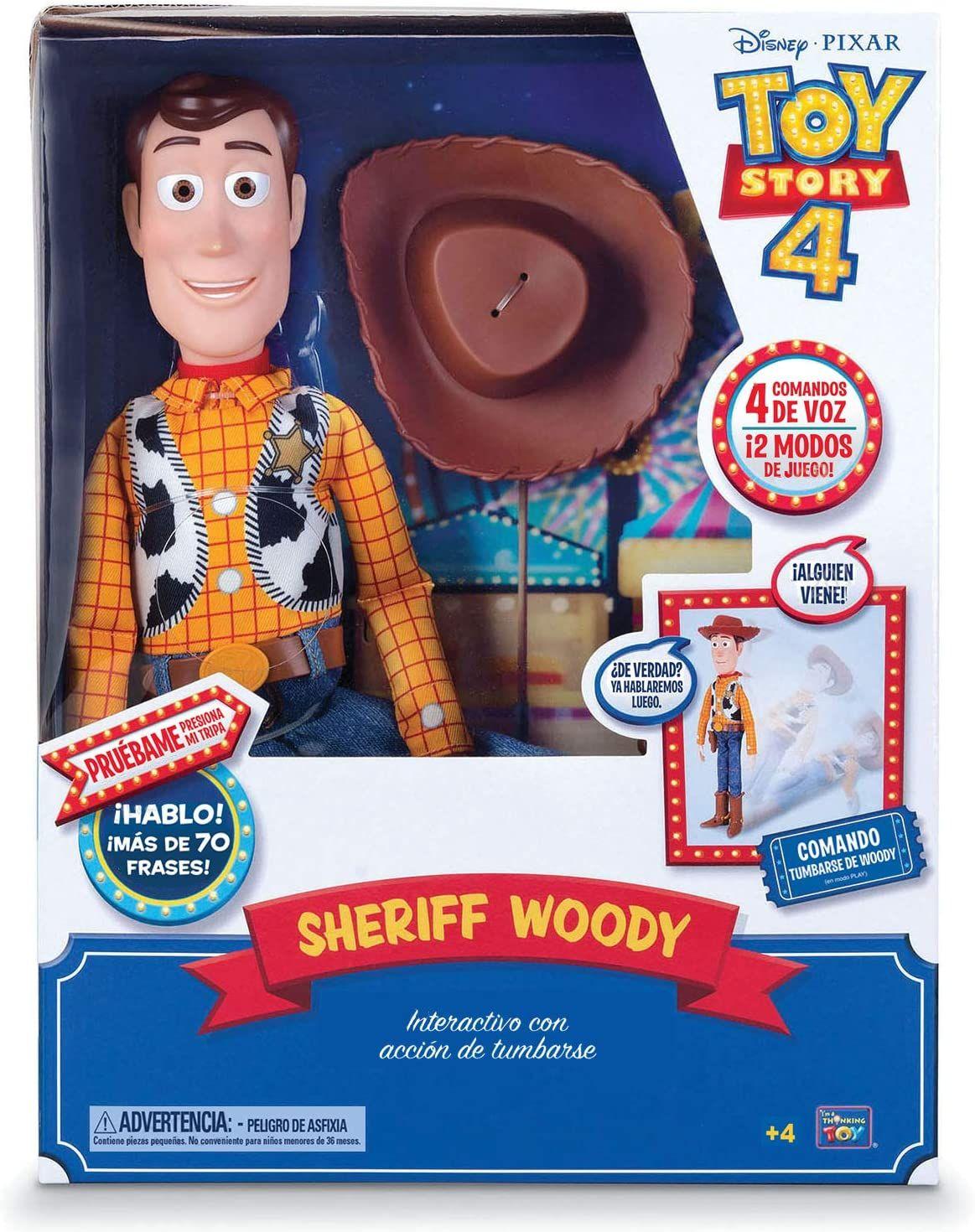 Woody y Buzz de TOY Story Interactivo en el Carrefour
