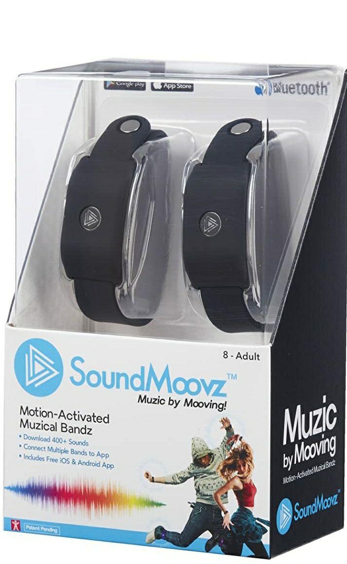 Soundmoovz Set De 2 Pulseras Muzic
