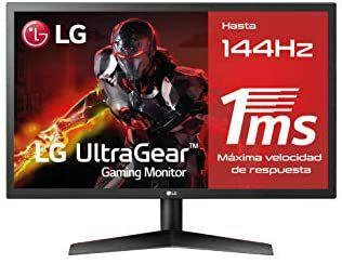 "Monitor LG Full HD de 24"" | 144 Hz | 1 ms"