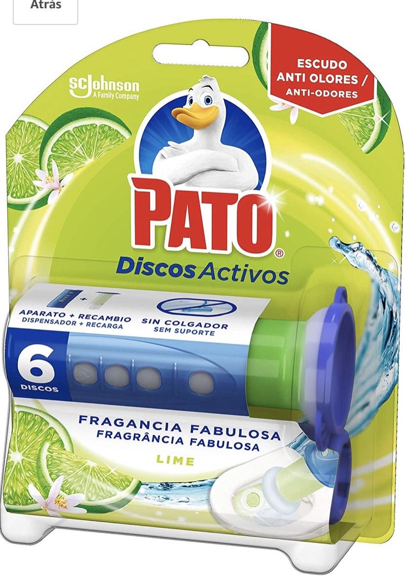 Pato - Discos Activos Wc Aroma Floral Fantasy, Aplicador Y Recambio Con 6 Discos 110 g
