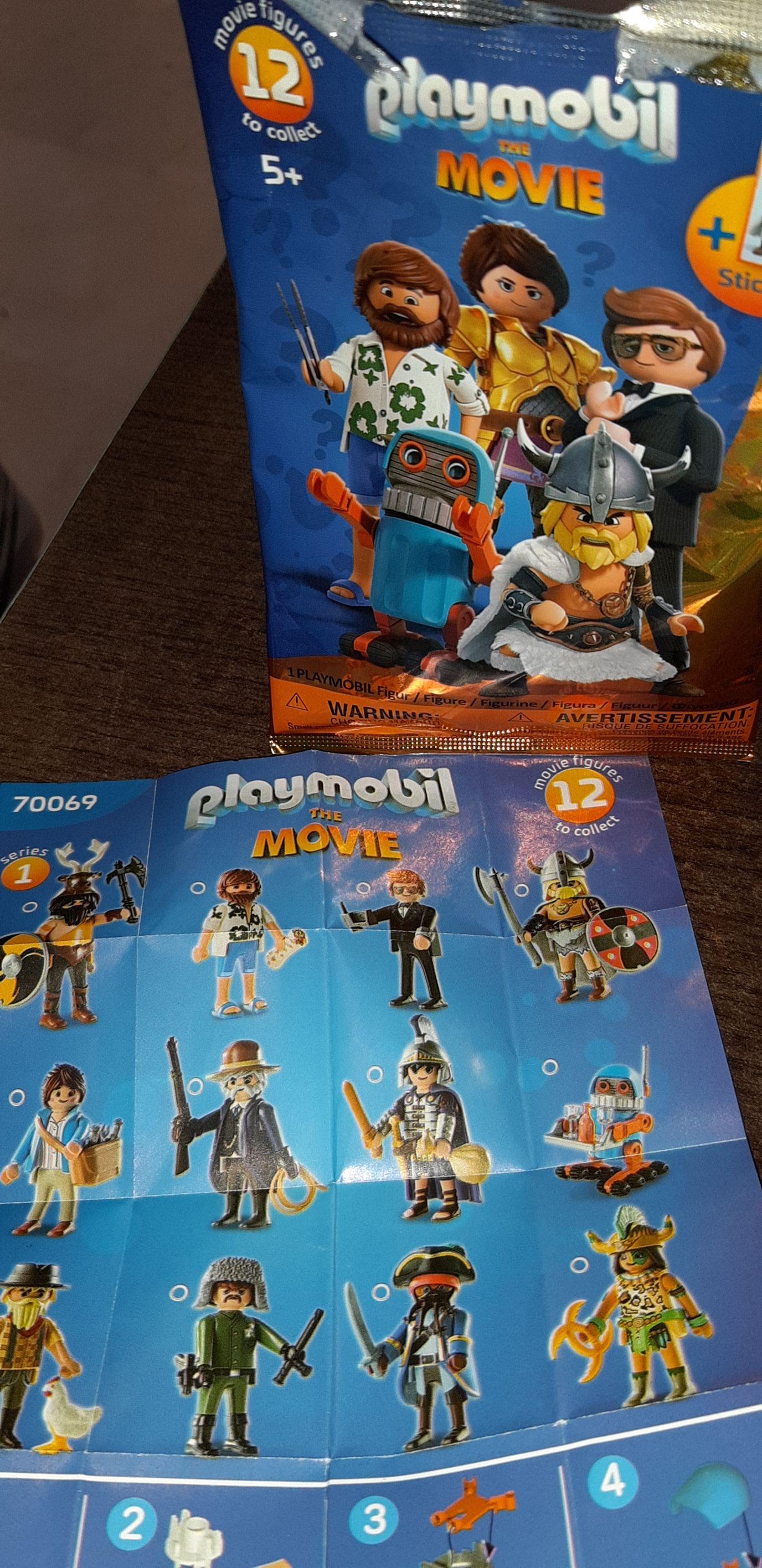 Playmobil series 1 The Movie