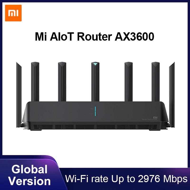 ROUTER XIAOMI Mi AIoT versión Global, Chip AX3600