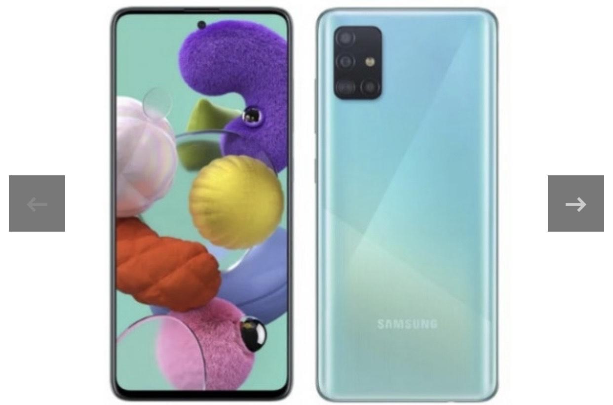 "Samsung Galaxy A51 BLUE 128GB 6,5"" Libre"