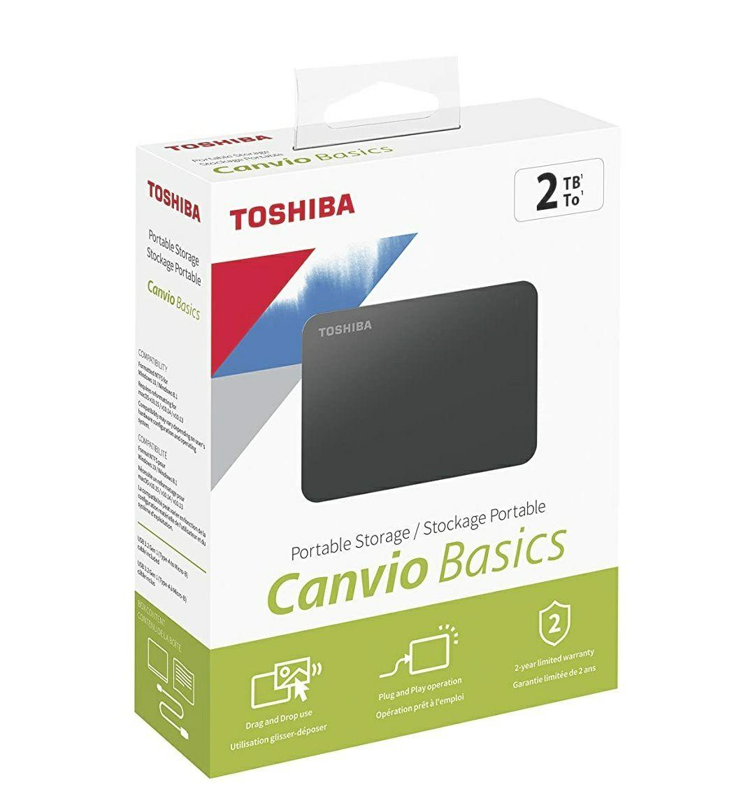 Toshiba Canvio Basics 2TB
