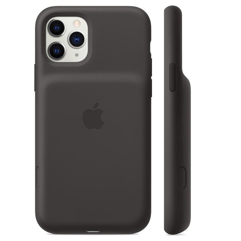 Funda Apple Smart Battery Case con carga inalámbrica (iPhone 11) en negro