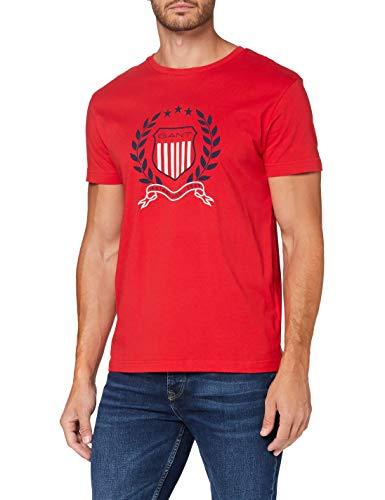 Camiseta Gant color rojo Talla XS