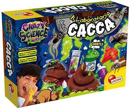 Lisciani Giochi - Crazy Science El laboratorio de la caca