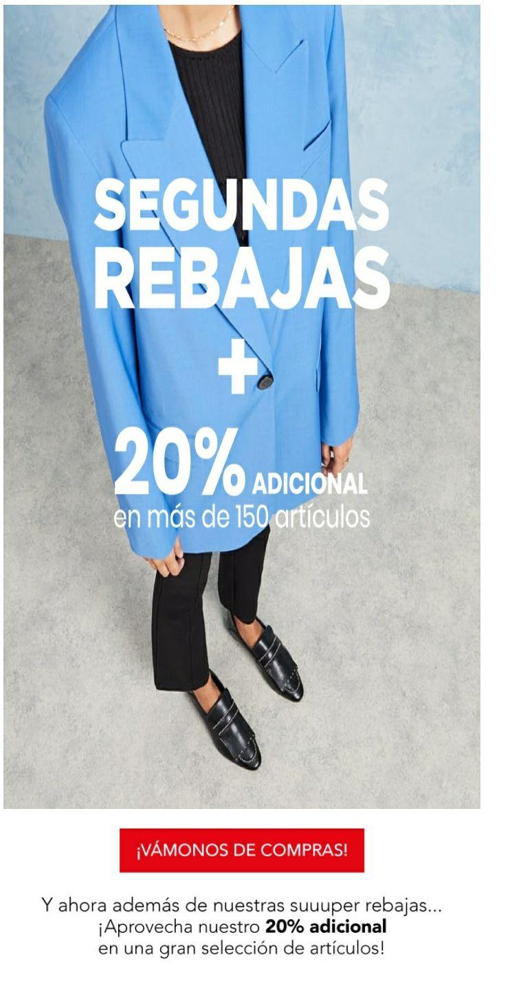 20% extra en Marypaz