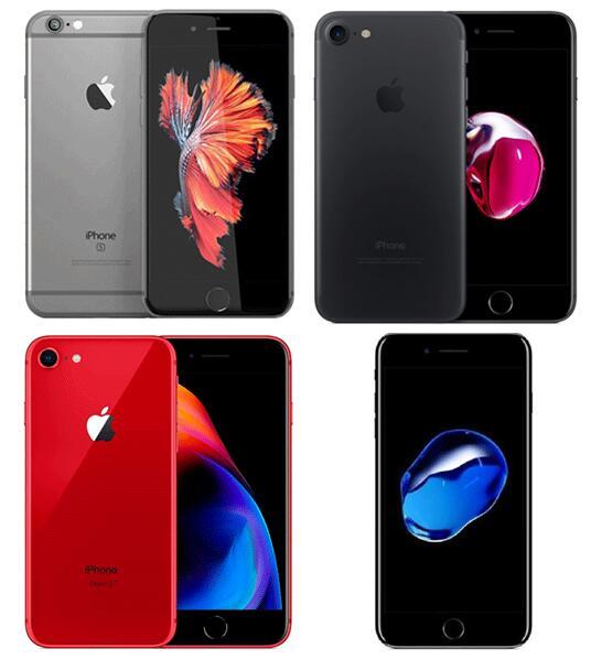 Selección de Smartphones iPhone renovados desde 129.9€