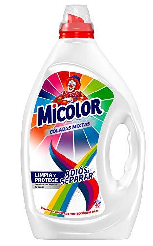 Pack de 3x2, Detergente Líquido, Adiós al Separar de Micolor- 40 Lavados
