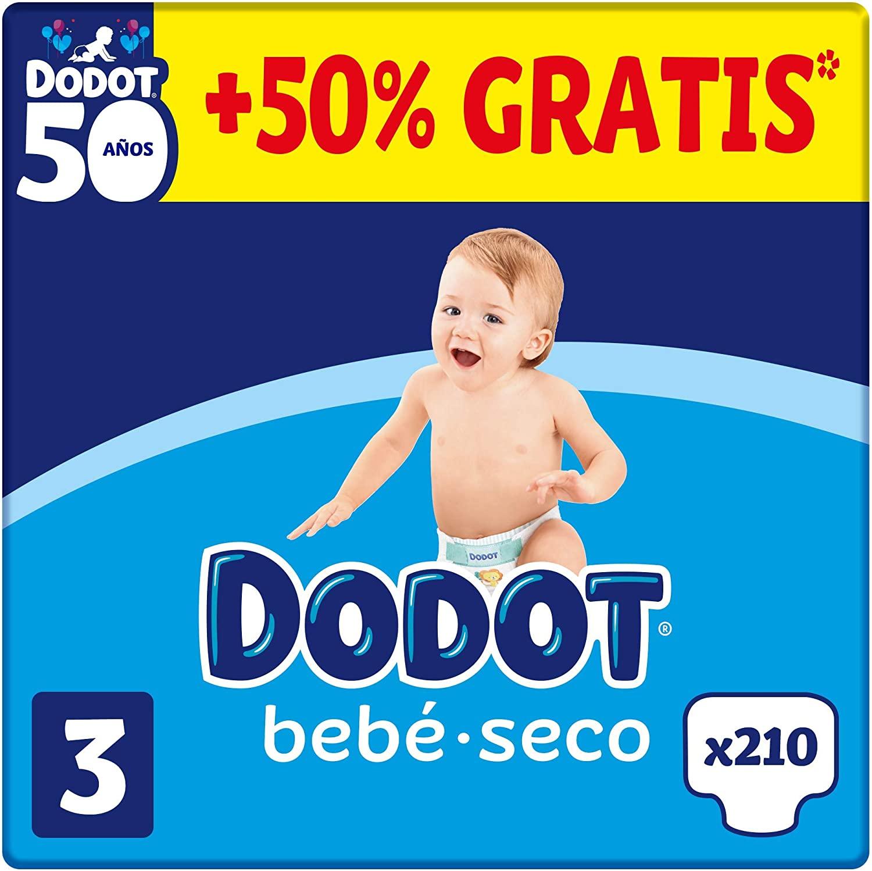 Recopilatorio de ofertas de dodot en Amazon, pañales, toallitas, etc.
