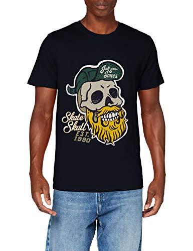 Jack & Jones Jorskulling tee SS Crew Neck STS Camiseta para Hombre.