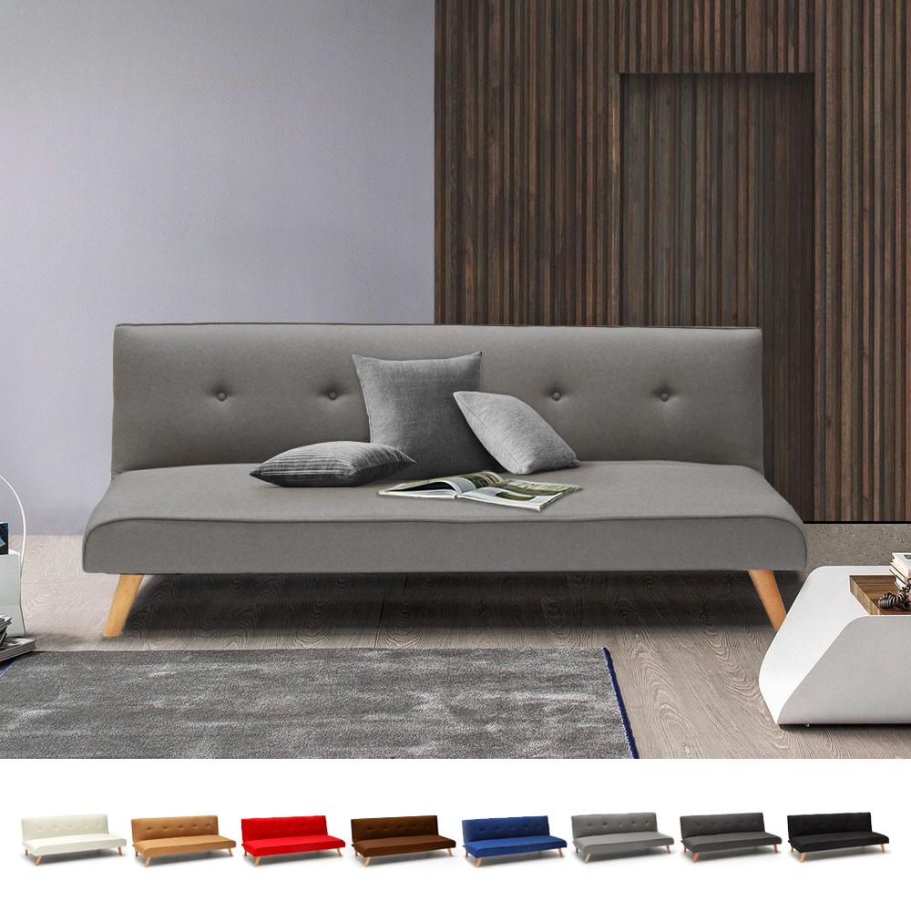 Sofá Cama Diseño Moderno 2 Plazas Clic-Clac ( 7 Colores )
