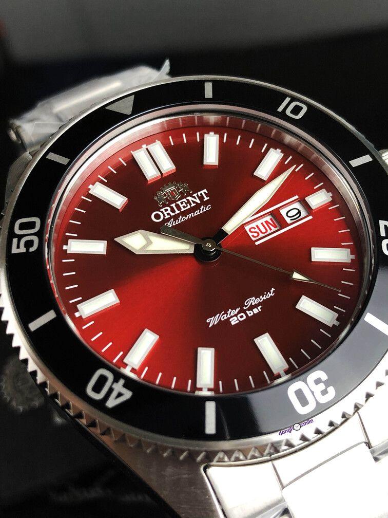 Relojazo Diver Orient Automático