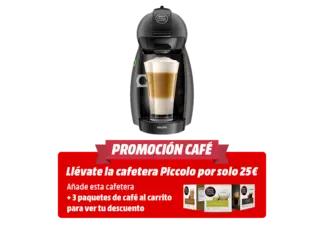 Cafetera de cápsulas - Krups Piccolo KP-100-BSC Antracita + 3 cajas de café