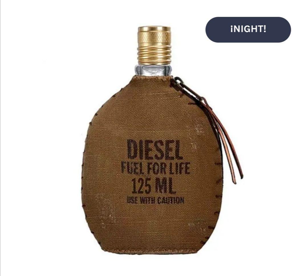 DIESEL Fuel For Life| 125ML Eau de Toilette para hombre