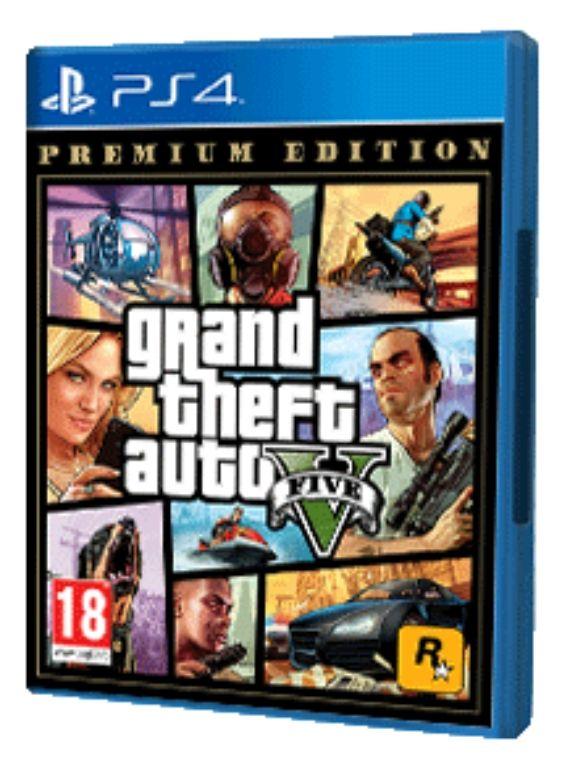 Grand Theft Auto V Premium Edition [ Ps4 ]