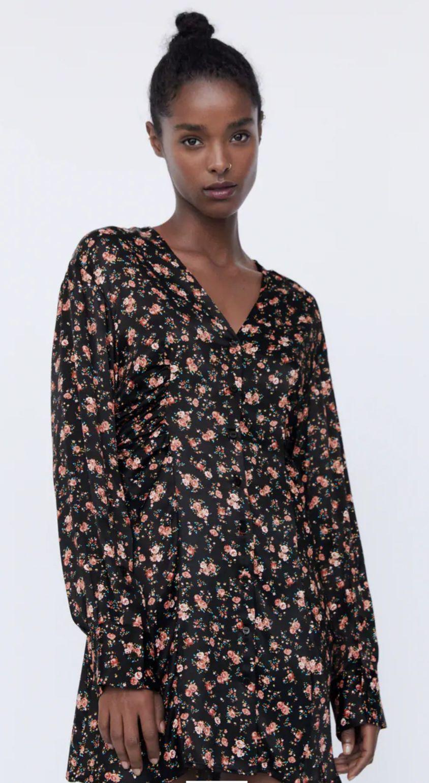 Vestido Zara floreado