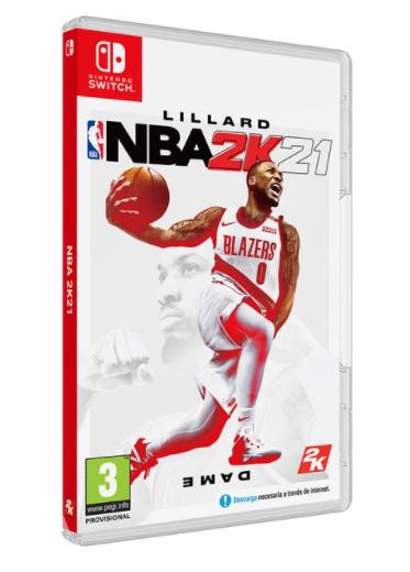 NBA 2K21 Nintendo Switch solo 24.8€