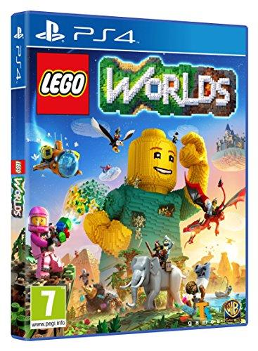 Lego Worlds, para PlayStation 4.