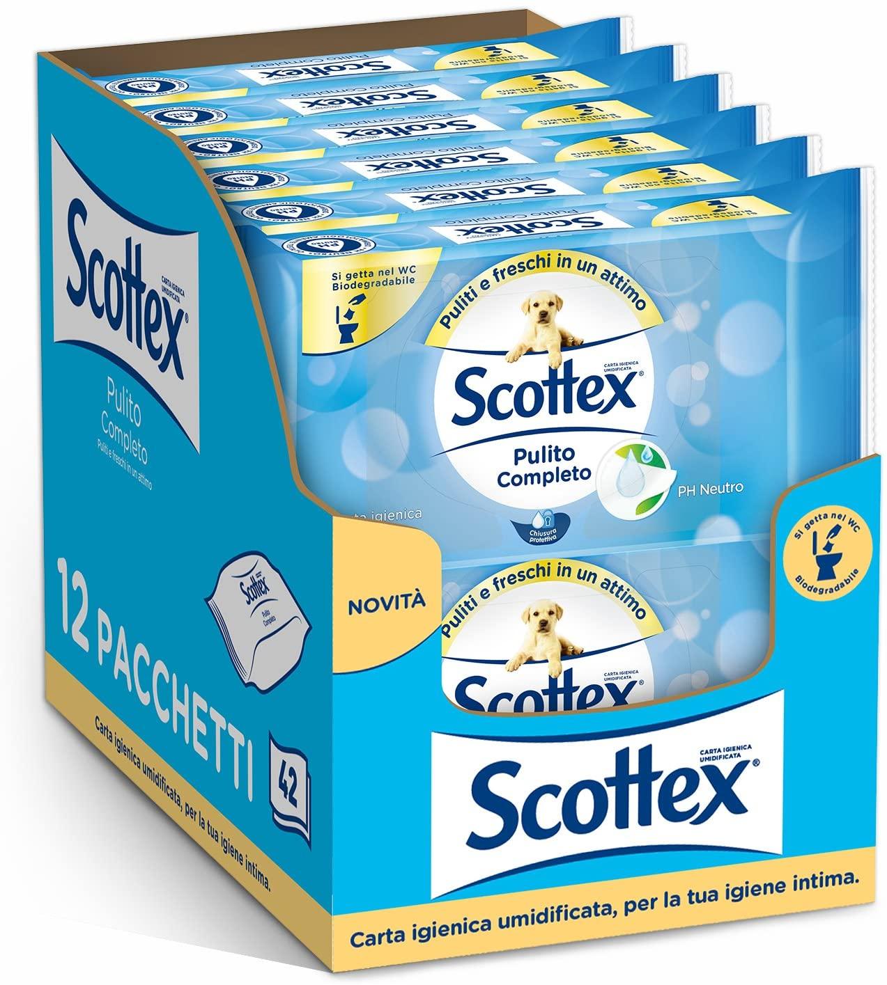 504 Toallitas Scottex Pulito solo 9.5€