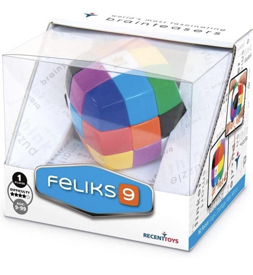 Cayro - Feliks 9 - Juguete de ingenio - Desarrollo de Habilidades cognitivas e inteligencias múltiples