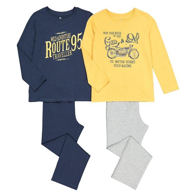 Lote de 2 pijamas infantiles