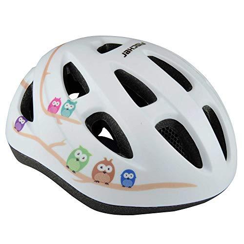 Fischer Casco de Bicicleta Infantil de Alta Seguridad con iluminación (Temporalmente sin stock)