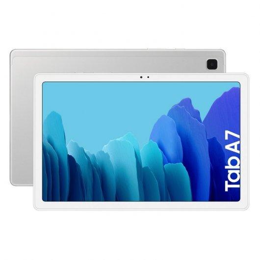 "Samsung Galaxy Tab A7 10.4"" 64GB Wifi Plata (15% de descuento)"