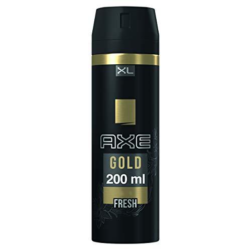 AXE Gold - Desodorante Bodyspray para hombre, 48 horas de protección, 200 ml