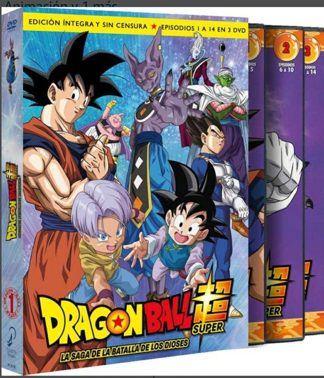 Dragon Ball super box 1 dvd