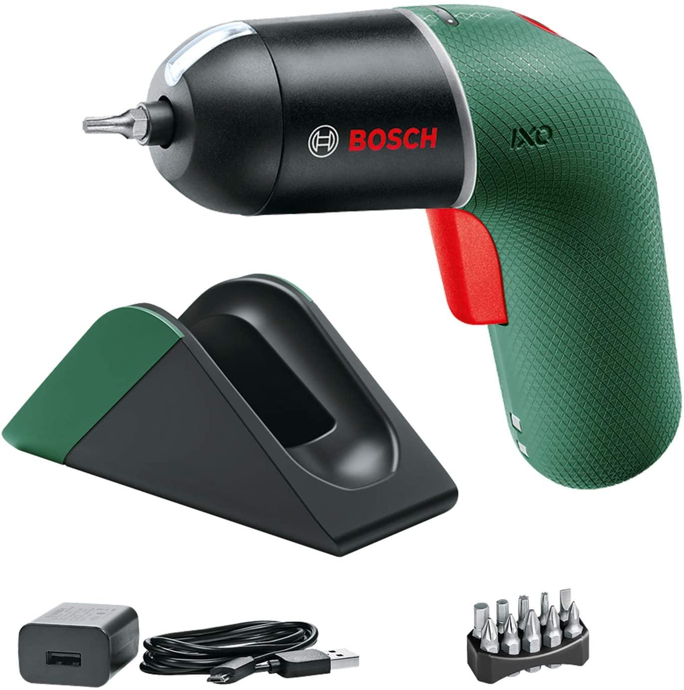 Atornillador Bosch con estación de carga solo 44.9€