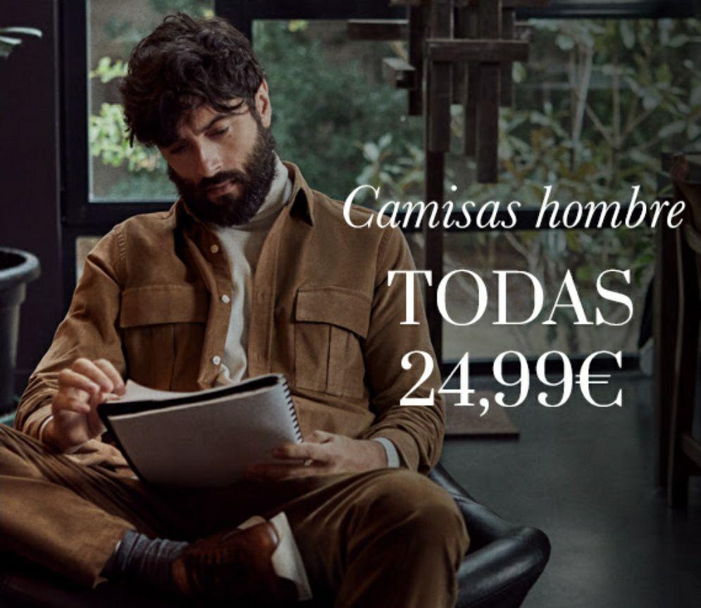 Todas las camisas de Pedro del Hierro a 24.99