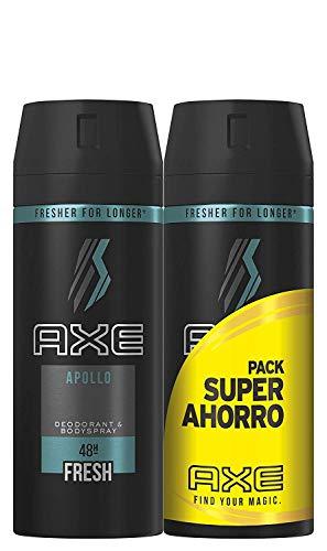 2 unidades Axe 150ml Desodorante Apollo