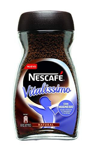 NESCAFÉ Café Vitalissimo Soluble Natural con Magnesio 3 Botes de cristal x 200g de Café - Total 600 g