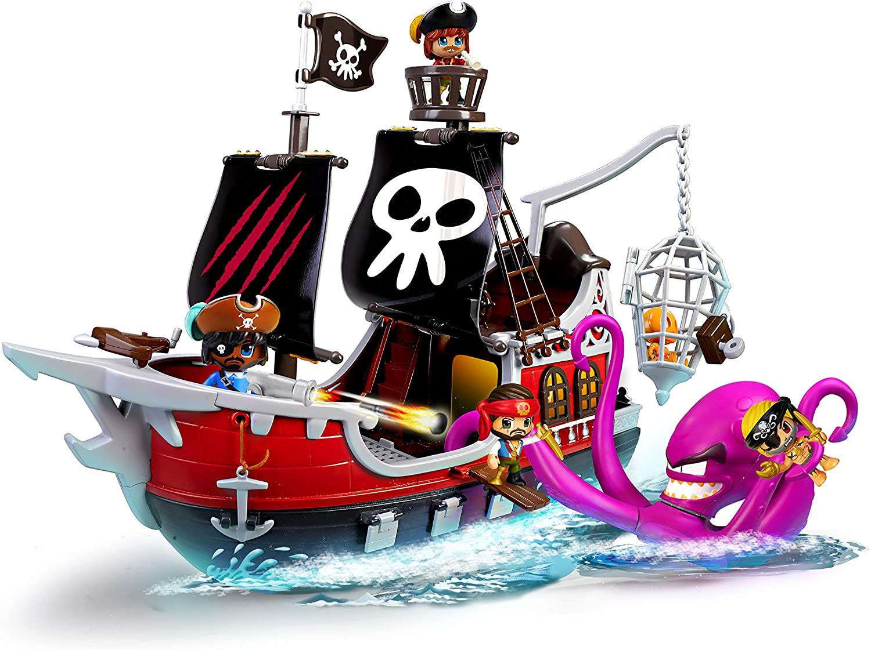 Pinypon Action Barco pirata solo 39€