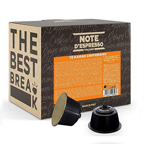 [48 capsulas]Chai Karak Saffron Tea para Dolce Gusto